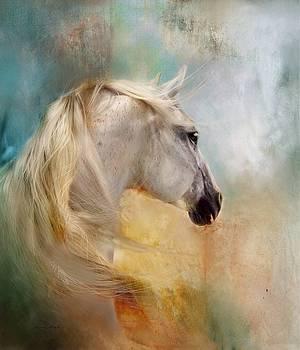 Listen To The Wind- Harley by Dorota Kudyba