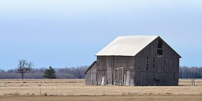 Little Barn on the Prairie  by Teresa McGill