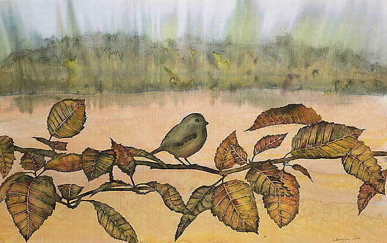 Little Bird on a Branch by Carolyn Doe