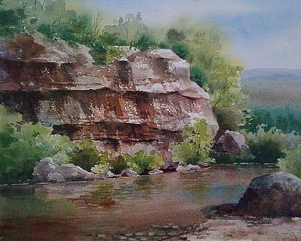 Little Devil River II by Tina Bohlman