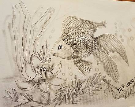 Maria Urso - Little Goldfish Drawing
