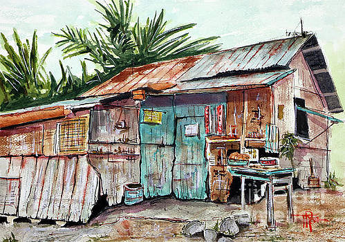 Old Shack Out Back by Tim Ross