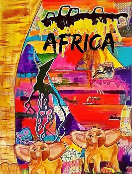 Little Ones in Africa by Jan Steadman-Jackson