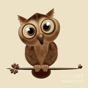 Little Owl by Claudia Burlager