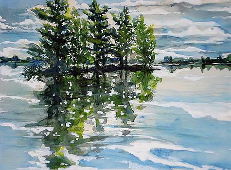 Little Pine Island by Bud Bullivant