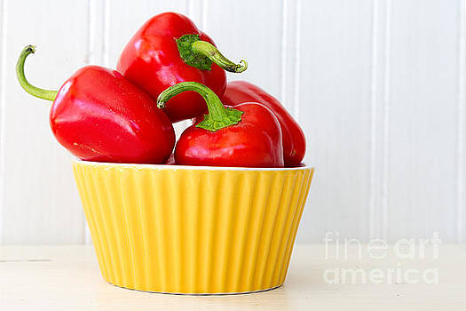 Little Red Peppers by Verena Matthew
