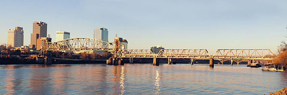 Little Rock Panorama by Ray Devlin