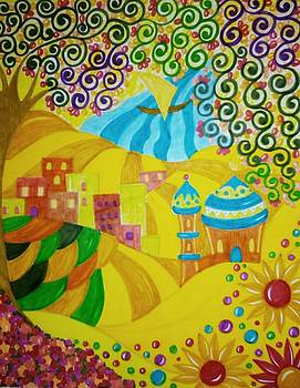 Little village  by Jilly Curtis