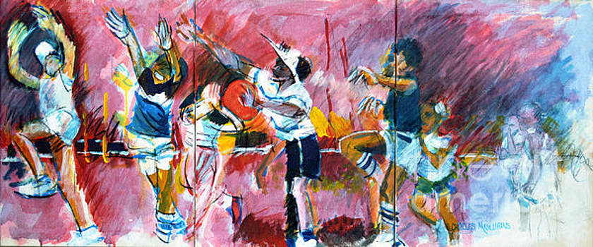 Little volley by Charles M Williams
