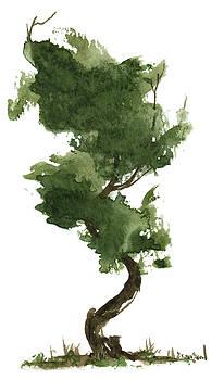 Little Zen Tree 153 by Sean Seal