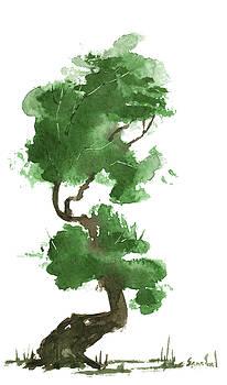 Little Zen Tree 155 by Sean Seal