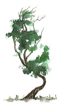 Little Zen Tree 156 by Sean Seal