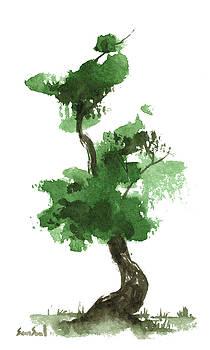 Little Zen Tree 157 by Sean Seal