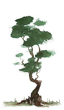 Little Zen Tree 163 by Sean Seal