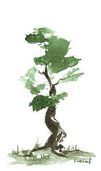 Little Zen Tree 164 by Sean Seal