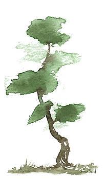 Little Zen Tree 165 by Sean Seal