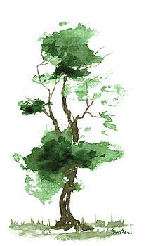 Little Zen Tree 166 by Sean Seal