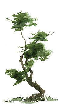 Little Zen Tree 167 by Sean Seal