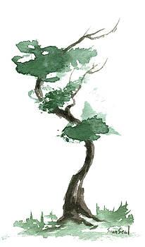 Little Zen Tree 168 by Sean Seal