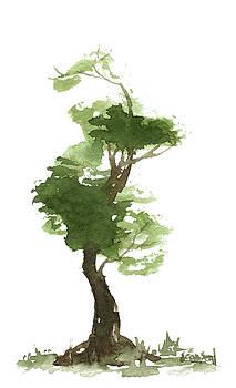 LIttle Zen Tree 173 by Sean Seal