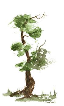 Little Zen Tree 174 by Sean Seal