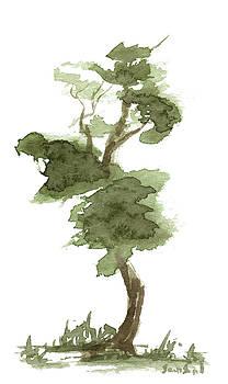 Little Zen Tree 175 by Sean Seal