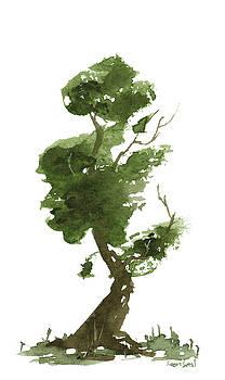 Little Zen Tree 176 by Sean Seal