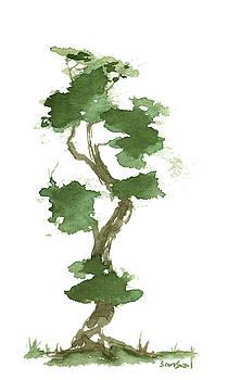 Little Zen Tree 178 by Sean Seal