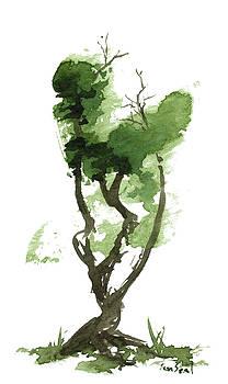 LIttle Zen Tree 179 by Sean Seal