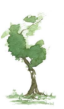 Little Zen Tree 181 by Sean Seal