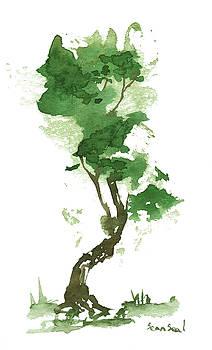 Little Zen Tree 182 by Sean Seal