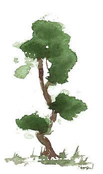 Little Zen Tree 183 by Sean Seal
