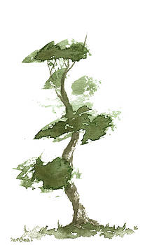 Little Zen Tree 185 by Sean Seal