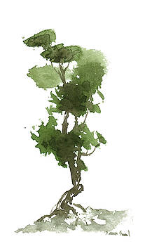 Little Zen Tree 186 by Sean Seal