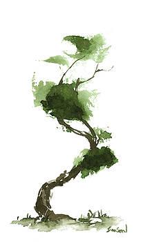 Little Zen Tree 188 by Sean Seal