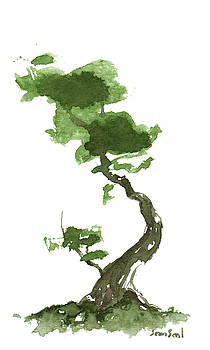 Little Zen Tree 189 by Sean Seal