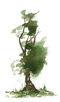 Little Zen Tree 191 by Sean Seal