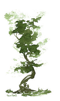Little Zen Tree 192 by Sean Seal