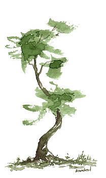 Little Zen Tree 193 by Sean Seal