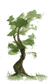 Little Zen Tree 194 by Sean Seal