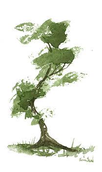 Little Zen Tree 195 by Sean Seal