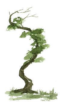 Little Zen Tree 196 by Sean Seal