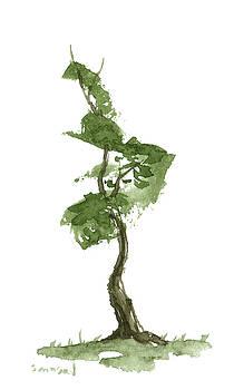 Little Zen Tree 198 by Sean Seal