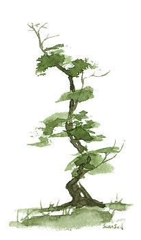 Little Zen Tree 199 by Sean Seal