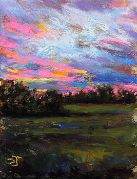 Live Oak Evening by Susan Jenkins