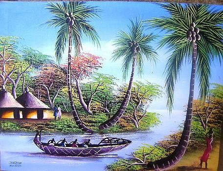 Living In Beside The Lake by Joseph Muchina