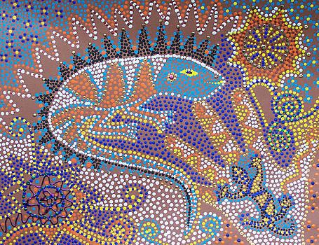 Lizard Dreaming by Vijay Sharon Govender
