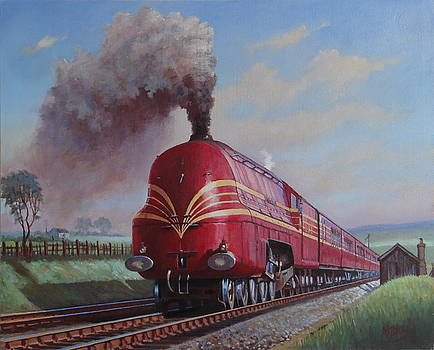 LMS Stanier Pacific by Mike  Jeffries