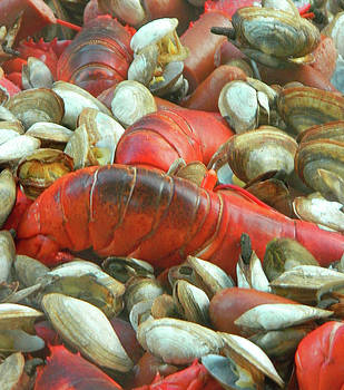 Lobster Clam Bake Connecticut Style2 by Emmy Marie Vickers