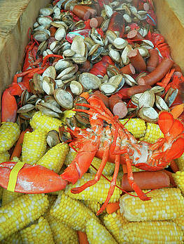 Lobster Clam Bake Connecticut Style3 by Emmy Marie Vickers